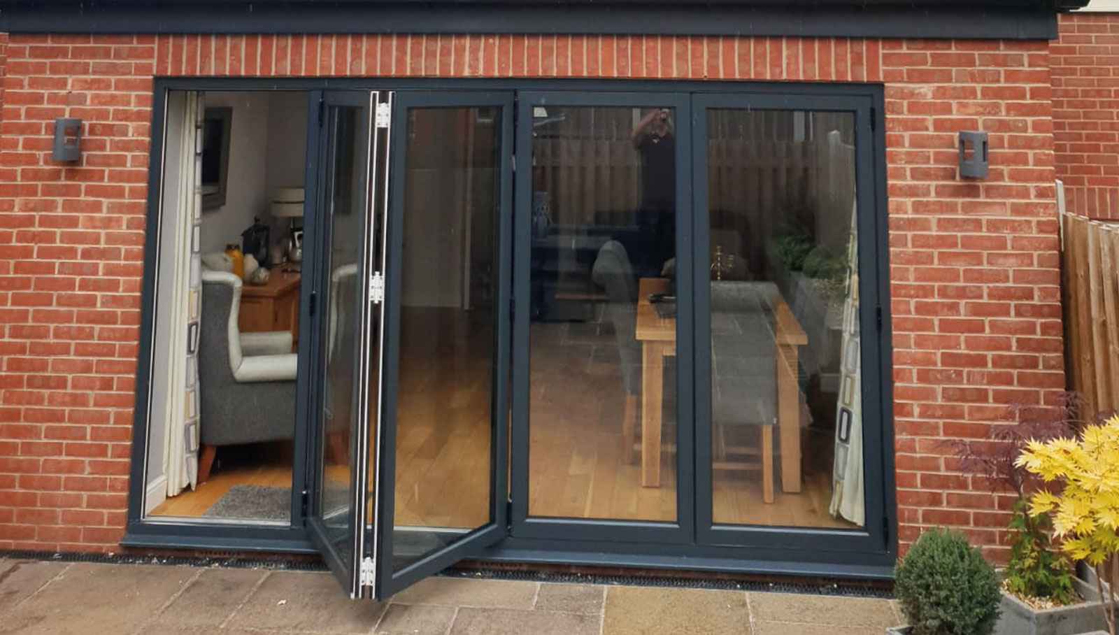 Bi-folding Doors by Warmglaze Fabrications Ltd